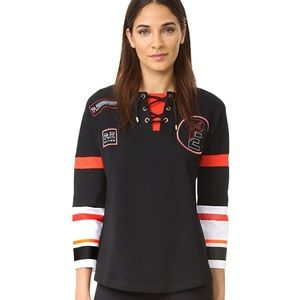 P.E Nation On The Fly jersey style top